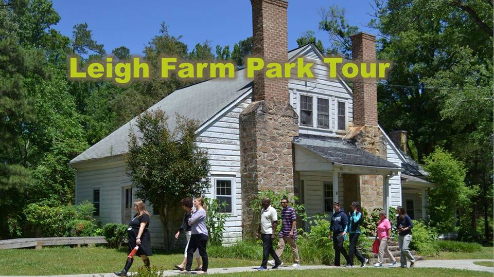 Historic Tours Of Leigh Farm Park Kids Out And About Research Triangle